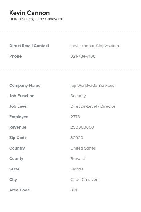 Sample of Motor Freight Transportation Email List.